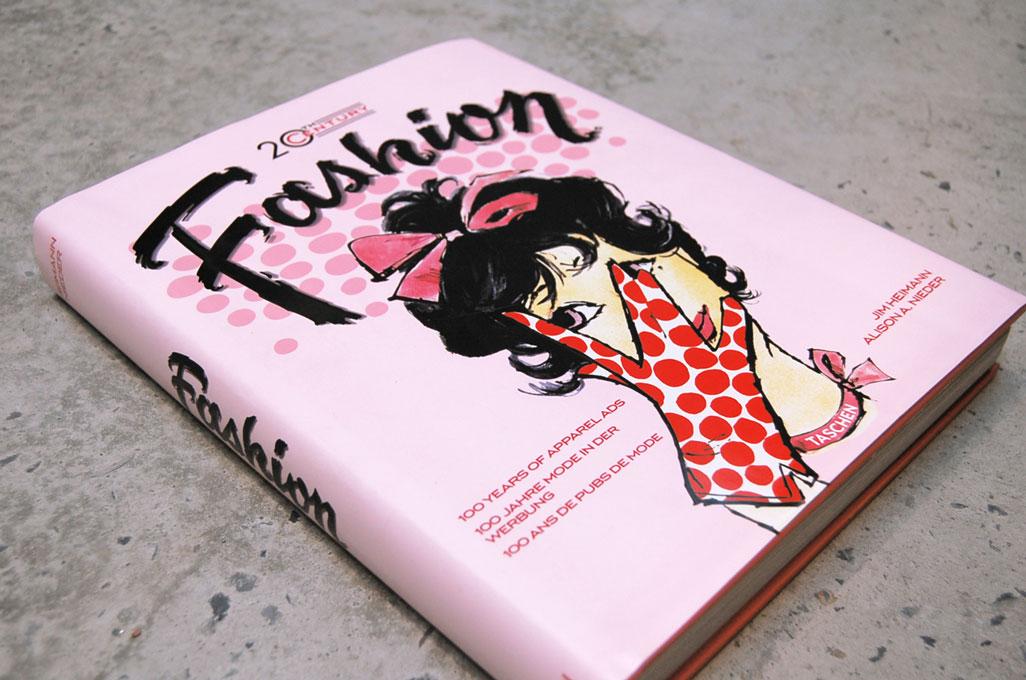 Fashion Book Cover Review ~ Th century fashion ads tyler flatt